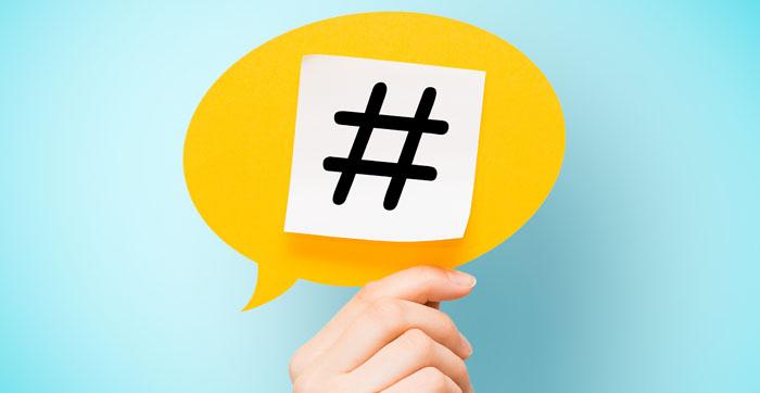 Creative hashtag-gery